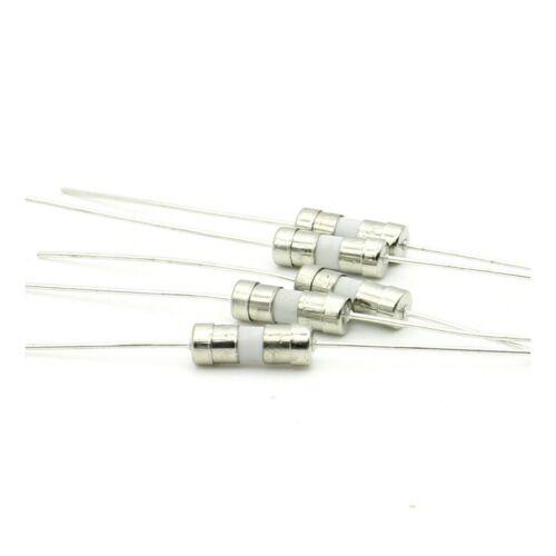 5x t6.3a 3.6x10mm fuses ceramic slow fusion 250v 181fus299