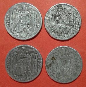 10-centimos-1941-en-MBC-lote-de-4-monedas