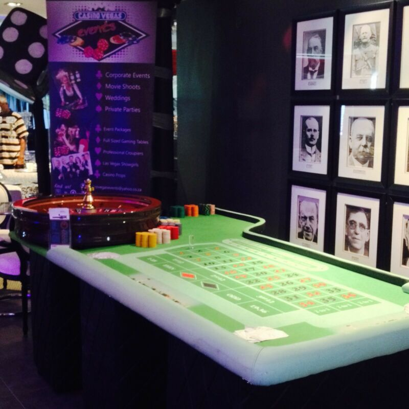 Fun Casino Year End Entertainment - Casino Tables with Croupiers