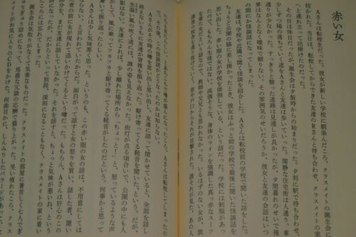 JAPAN Fuyumi Ono Short story collection novel Ghost Stories Storybook