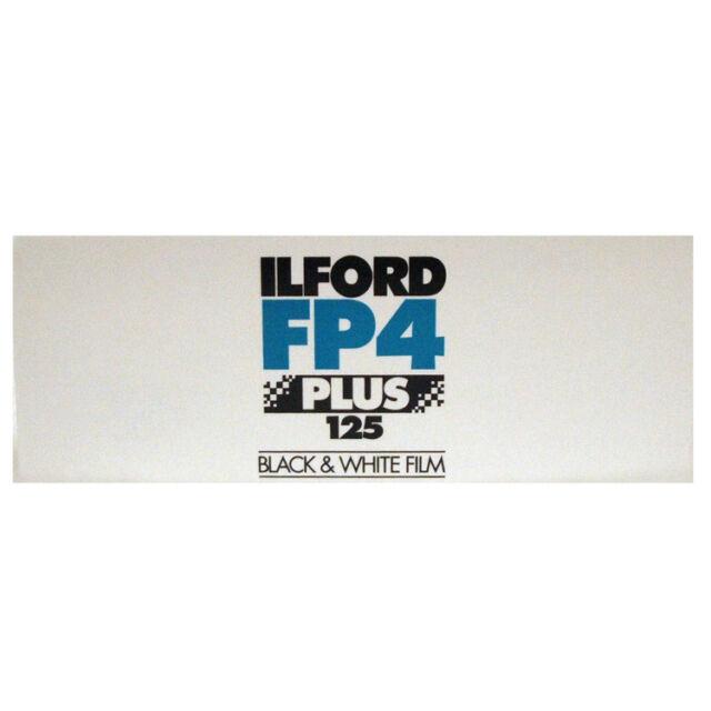 Ilford FP4 Plus 125 Película Blanca y Negra 120 Medio Formato Rollo Fecha 07/19