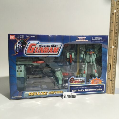 Bandai Gundam Mobile Suit RGZ-91 Re-GZ Back Weapon System Deluxe BLUE BOX Sealed