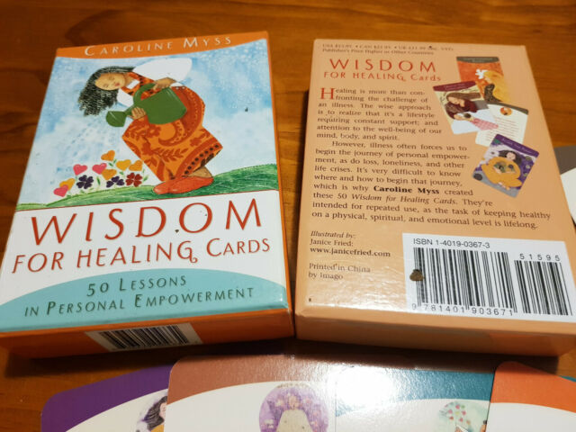 Wisdom for healing oracle cards 50 Lessons in Personal Empowerment Caroline myss