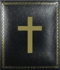 Church Catholic Cross Ring Pin Box Case Bishop Chaplain Minister Priest Preacher