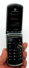 Motorola Verizon W755 Flip Cell Phone BLACK vCast music 1.3 MP Camera bluetooth