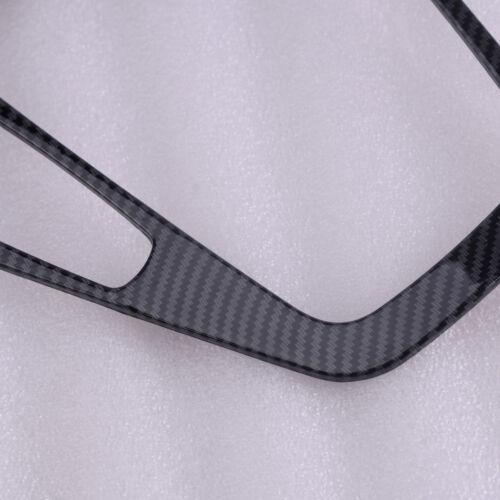 Carbon Fiber A//C Steuert Box Inner Gear Shift Panel Abdeckung für Ford Focus MK3