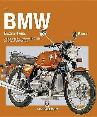 BMW Boxer Twins 1970-1996 Bible R75/5, /6 R90S R100RS Ian Falloon Author Signed