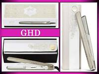 Ghd Arctic Gold 1 Styler Flat Iron Hair Straihtener Classic Styling Gift Set