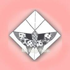 Vintage Quilt Pattern ~ 1930s Deco Butterfly, Depression Era