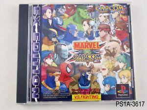 Marvel-vs-Capcom-EX-Edition-Playstation-1-Japanese-Import-PS1-JP-US-Seller-A