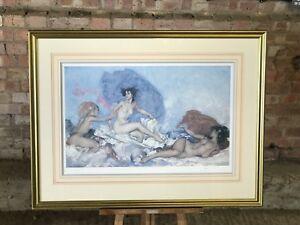 WILLIAM RUSSELL FLINT (1880-1969) -IN SUNNY PERIGORD