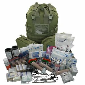 Elite First Aid The STOMP Medical Kit - OD Fully Stocked