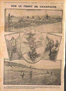 Bataille-de-Champagne-Poilus-Tranchee-Boyau-Feldgrau-Voie-Decauville-WWI-1916