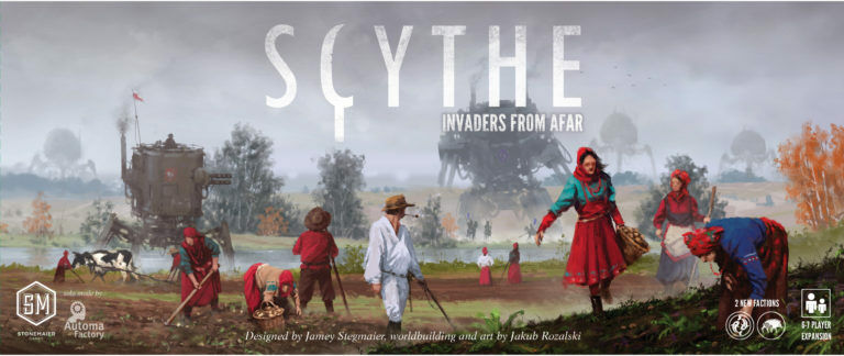 Scythe payasos From Afar expansión English version