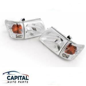 Set of Headlights & Corner Park Indicator Lights for Toyota Hilux SR5 2001-2005
