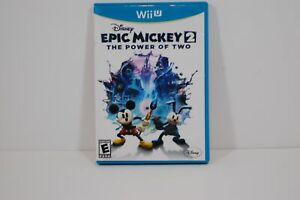 Authentic Nintendo Wii U Disney Epic Mickey 2 The Power of Two Video Game MOUSE