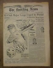 April 25, 1951 The Sporting News Rookie Mickey Mantle cover New York Yankees