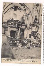 la grande guerre 1914-18 , intérieur de l'église de steinbach