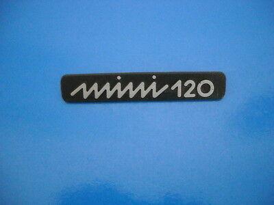 Competente Innocenti Mini 120 Badge Logo Scritta Nuova In Abs Possedere Sapori Cinesi