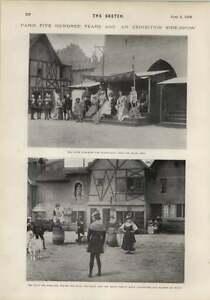 1900 Paris 500 Years Ago Exhibition Cour Des Miracles - Jarrow, United Kingdom - 1900 Paris 500 Years Ago Exhibition Cour Des Miracles - Jarrow, United Kingdom