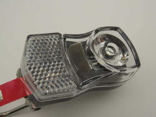 40LM-Reflector IPX3 NEW falkx FX1 PROPOWER LED Battery Bicycle Headlight