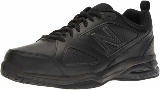New Balance Mens MX623AB3 Low Top Lace Up Running Sneaker, Black, Size 9.0 3DOp