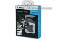 Belkin Car Micro Charger For Ipad / Iphone 3g/4/4s, Ipod 3g (black)