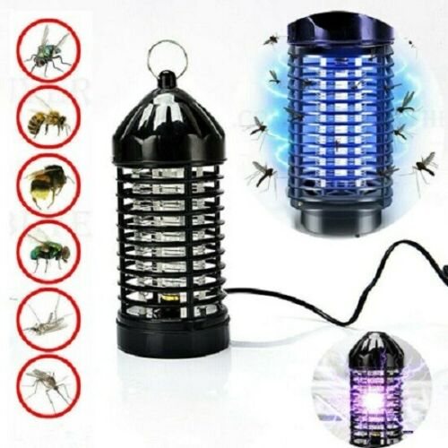 Outdoor Electric UV Mosquito Killer Lamp Indoor Fly Bug Insect Zapper Traps New