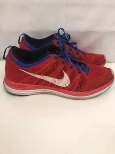 0e98b3264d10 Nike Flyknit One+ Team Orange White-Game Red-Game Royal 554887-816 ...