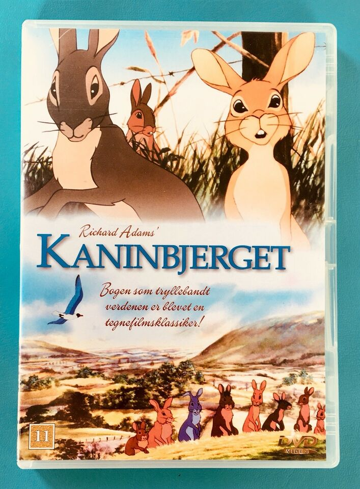 Kaninbjerget, DVD, animation