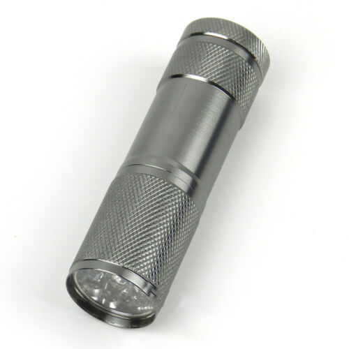 5 V Taschenlampe Violett LED Schwarzlicht Licht Lampe Aluminium 6063-T6