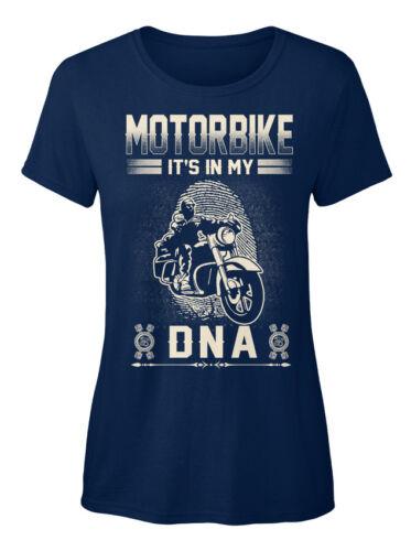 Motorbike Its In My Dna It/'s Dna Standard Women/'s T-shirt