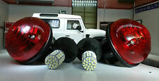 LAND Rover Defender TD5 TDCi freno / Tail Luce / Lampada ORIGINALE Wipac x2 LAMPADINE A LED