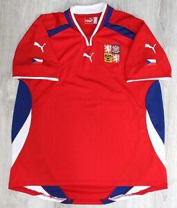 National team CZECH REPUBLIC home shirt (jersey, maglietta, camiseta) 2000-2001