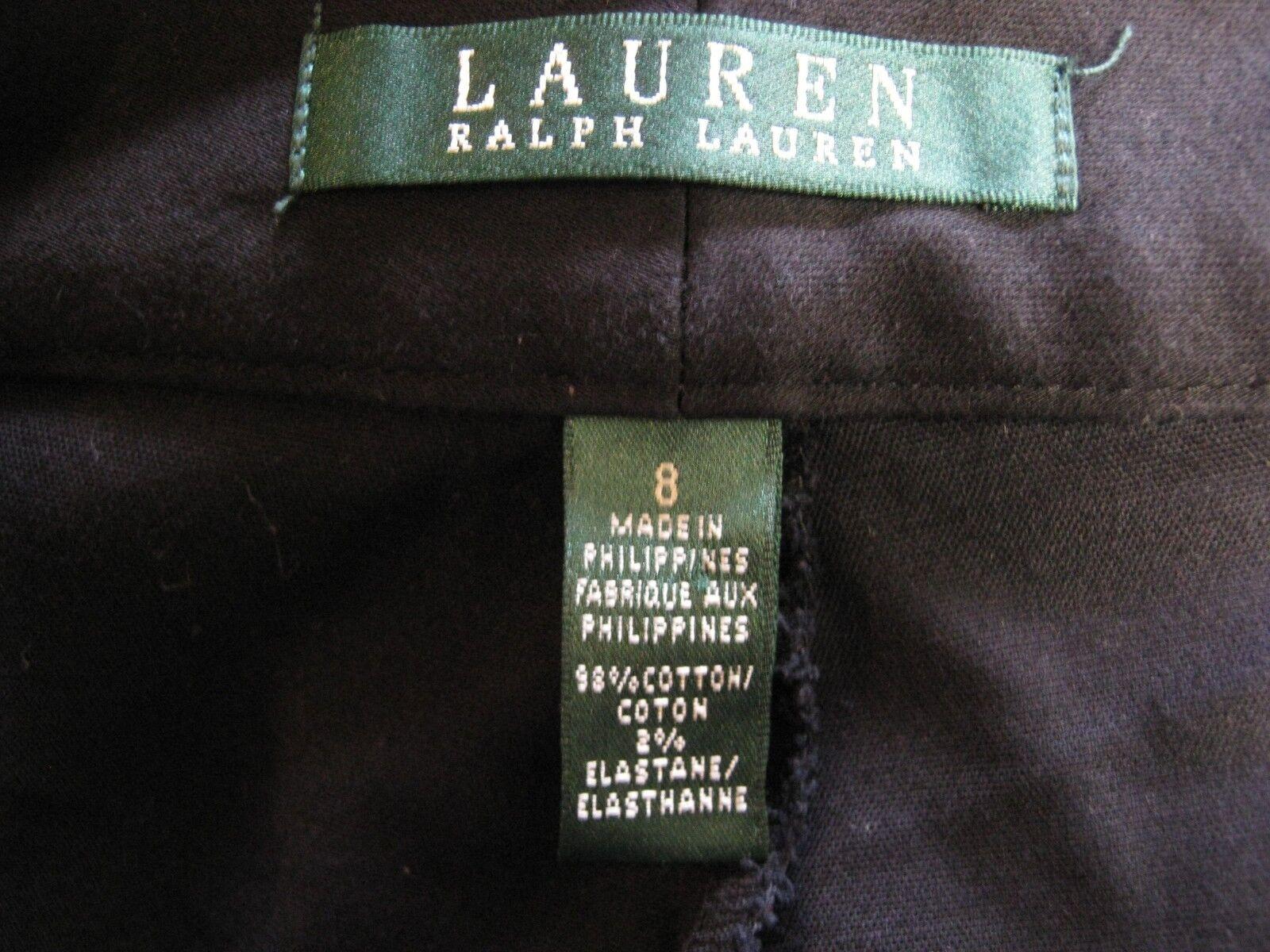 Lauren Ralph Lauren Shorts Size 8 Black Tailored … - image 4