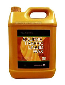 Johnsons Diversey Bourne Traffic Liquid Wax Natural 5