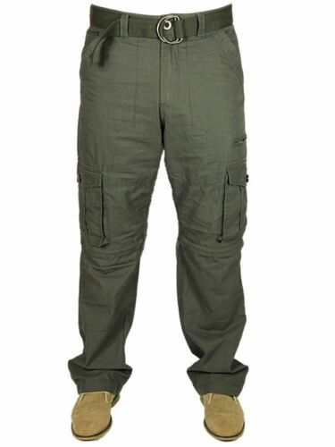 New Mens Trousers Shorts 2 In 1 Casual Cargo Combat Pants Walking Big King Sizes