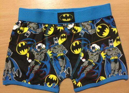 Boys Boxer Short with Black and Blue Batman detail