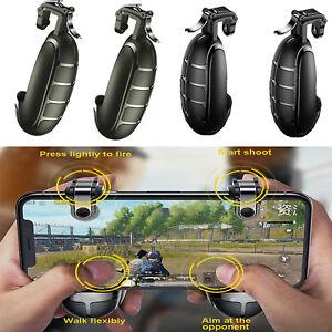 Details about BASEUS Joystick for PUBG Mobile Game Trigger Fire Button L1R1  Shooter Controller