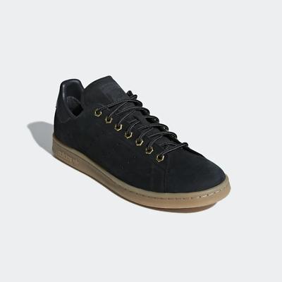 Adidas STAN SMITH WP Baskets Hommes Chaussures chasseur B37872 en cuir noir | eBay