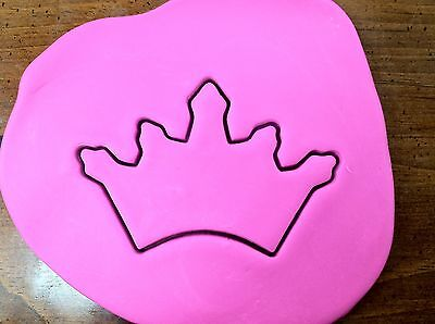 Princess Tiara Crown Cookie Cutter CHOOSE YOUR OWN SIZE!