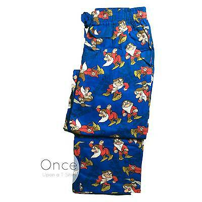 Mens Official DISNEY 100% GRUMPY Dwarf from Snow White Pyjama Lounge Pants