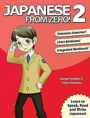 1 of 1 - Japanese from Zero! 2: 2015 by Learn From Zero (Paperback, 2006)