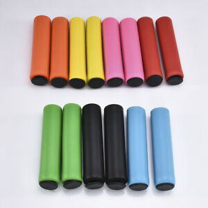 2x-Silicone-Anti-slip-Bike-Foam-Grip-MTB-Bike-Handlebar-Slip-Proof-Grip-Colorful