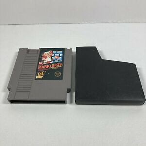 ORIGINAL-AUTHENTIC-Super-Mario-Bros-1-Nintendo-NES-Game-Cartridge-amp-Dust-Cover