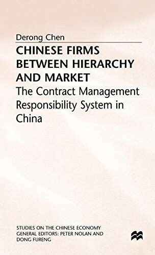 Chinese Firms: The Contract Management Responsibility System in China (Studies o