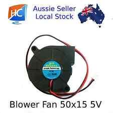 Blower Fan 50mm x 50mm x 15mm 2pin 5V Cooling Fan Pengda - Aussie Seller