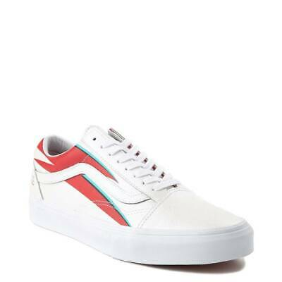New Vans X David Bowie Old Skool Aladdin SaneTrue White Sneakers Shoes 2019