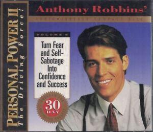 Anthony-Robbins-Personal-Power-II-Volume-8-Fear-Self-Sabotage-Sealed-CD-Set