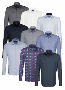 Praktisch Seidensticker Herren Herrenhemd Langarm Business Hemd Tailored Kent Divers 01 Wir Haben Lob Von Kunden Gewonnen Herrenmode